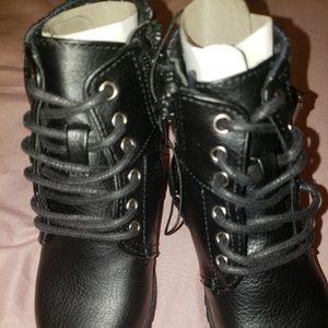 dd7e42d1757a okie dokie Shoes - New okie dokie little girls black boots size 6